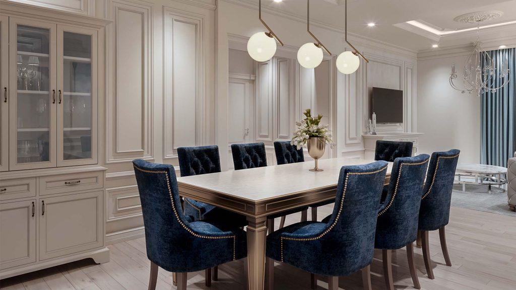 Prestige Ferns Residency 2 Dining Table